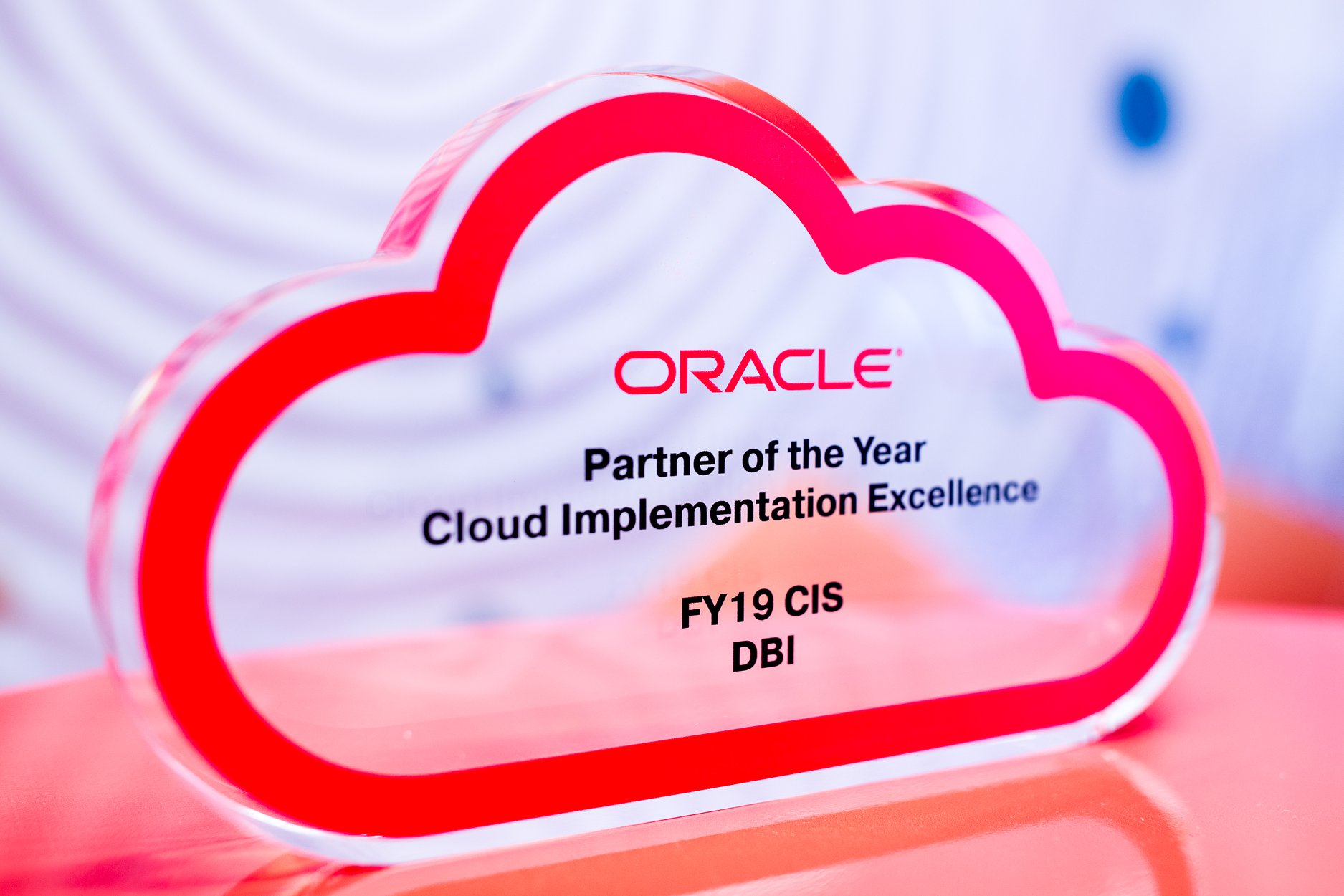 "Компания DBI ""Oracle Partner of the Year"""